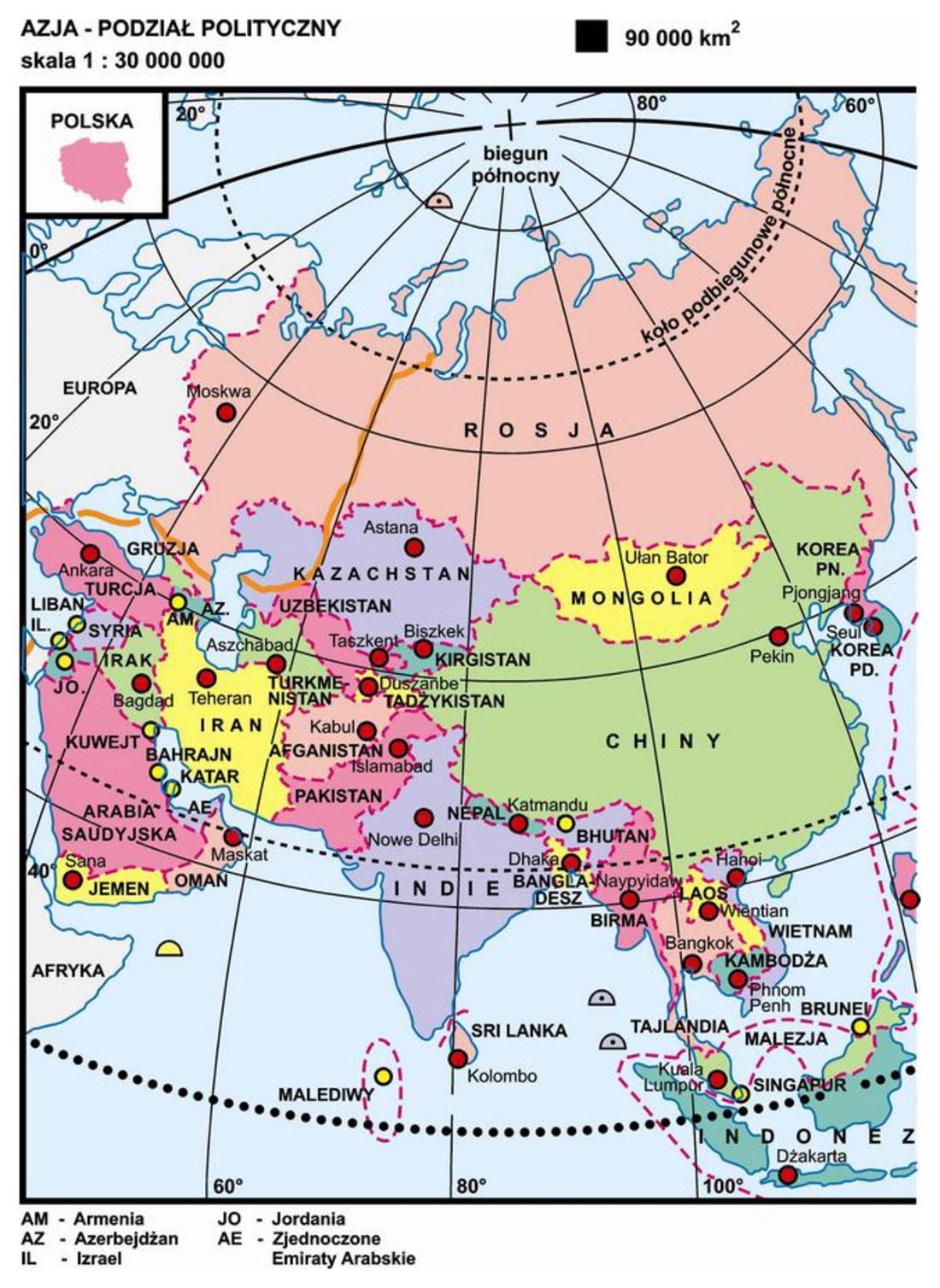 26 Azja Podzial Polityczny