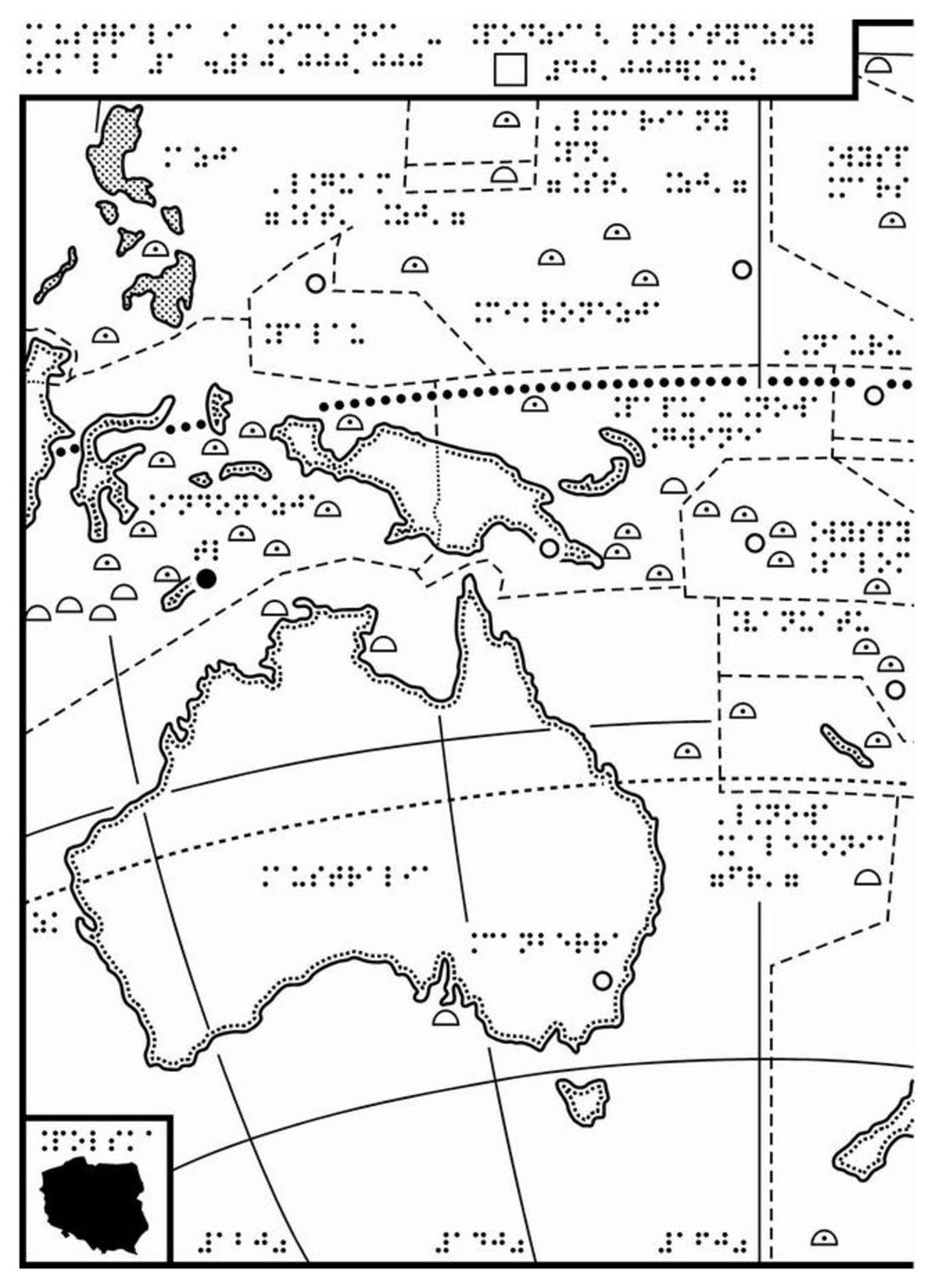 Polityczna Mapa Australia Oceania Za Darmo Dla Smartfonow